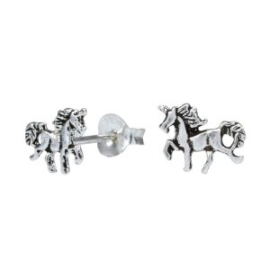Wholesale Silver Horse Stud Earrings