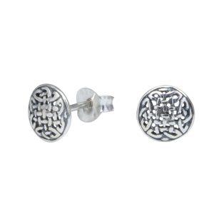Wholesale Silver Celtic Stud Earrings
