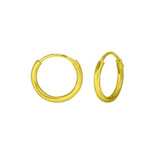 Wholesale 10mm Silver Hoop Earrings
