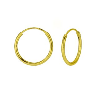 Wholesale 14mm Silver Hoop Earrings