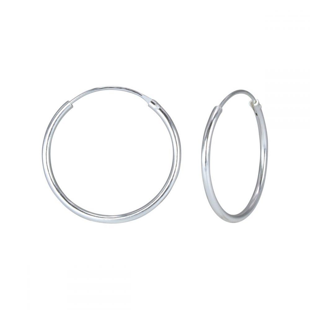 Wholesale 20mm Silver Hoop Earrings