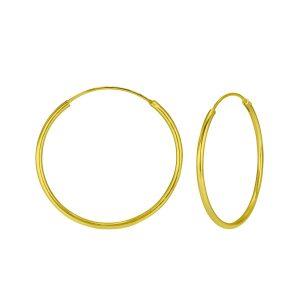 Wholesale 30mm Silver Hoop Earrings