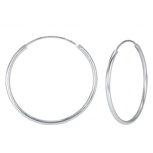 Wholesale 55mm Silver Hoop Earrings