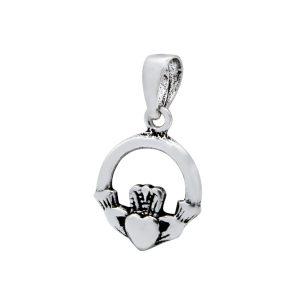 Wholesale Silver Claddagh Pendant