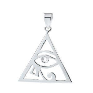 Wholesale Silver All Seeing Eye Pendant