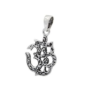 Wholesale Silver Om Sign Pendant